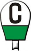 Знак «Постоянный сигнальный знак о подаче свистка»