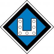 Знак «Постоянный предупредительный сигнальный знак - Включить ток на электропоезде» 2